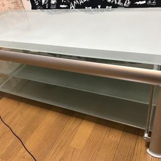 テレビ台 (ガラス)