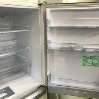 冷蔵庫 三菱 2018年 3ドア 335L ファミリーサイズ 家族用 MR-C34C-W 美品 川崎区 KK - 川崎市