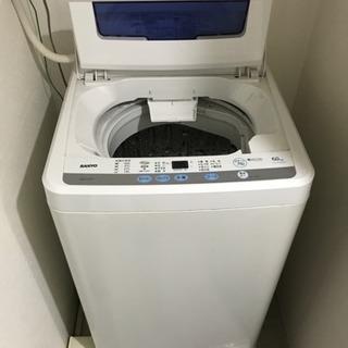 洗濯機 SANYO ASW-60D(W)