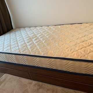 収納付き すのこベッド マットレスセット 豪華 便利 3万円相当!