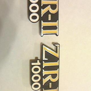 エンブレム レア物 Kawasaki  Z1R-Ⅱ1000 左右...