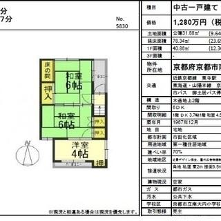 京都 世界遺産 東寺から徒歩約7分 中古一戸建て ゲストハ…