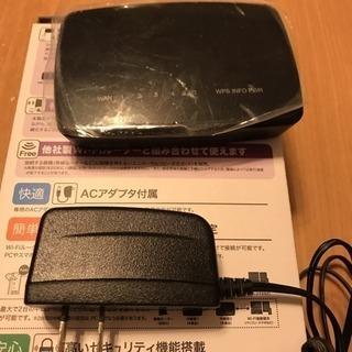 11n対応無線LAN中継器 エレコム