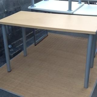 ミーティングテーブル、シンプルがいい ニトリ1200×600 配...