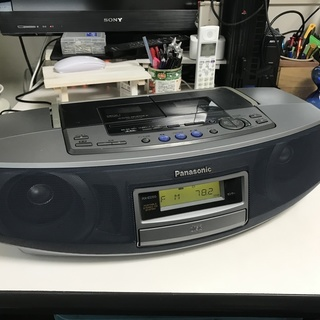 Panasonic:CD/ラジオ/Wラジカセ/:RX-ED55