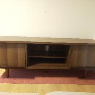 美品 テレビ台 テレビボード ローボード 木製 幅150