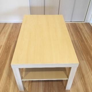 IKEA ローテーブル LACA 白木目