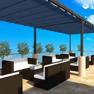 八王子【屋上レンタルスペース】気持ちの良い青空のもの、屋上で半日遊ぼう!