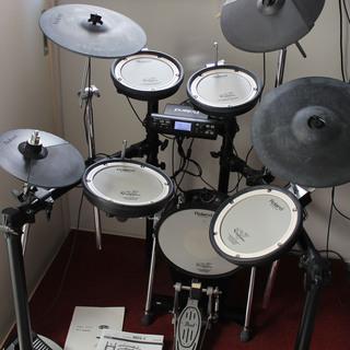 【商談成立】Roland 電子ドラム TD-4KX2 オールメッ...