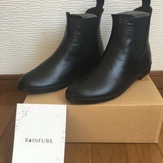 【RAINFUBS 】サイドゴアレインブーツ RIGEN-W