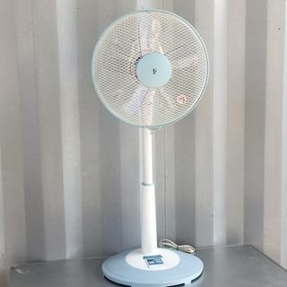 格安で!リモコン付き 5枚羽根 扇風機◇山善 12年製◇YLR-...