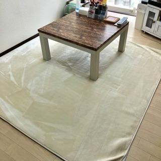 ラグ カーペット 2畳 約 185×185 cm やわらかなめらか...