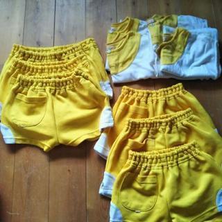 稲沢保育園   夏の黄色の体操服   110,120