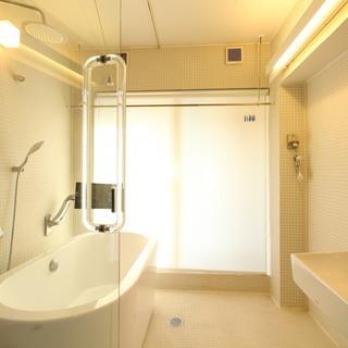 静岡駅徒歩7分。まるでホテルの様なバスルーム、今ならバスローブをプ...