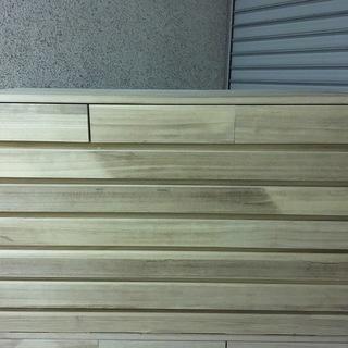 木製 7段 箪笥 タンス 着物収納 衣装 幅100cm×奥行48c...