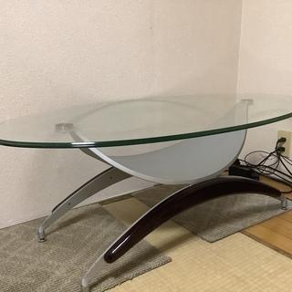 完売です  ガラステーブル