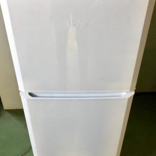 B ハイアール 121L 2ドア冷凍冷蔵庫 JR-N121A 2...