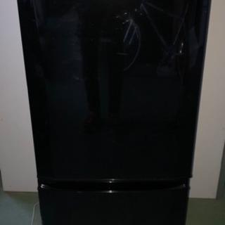 D 三菱 ノンフロン冷凍冷蔵庫 MR-P15X-B 2013年製