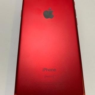 iPhone7 レッド 128GB バッテリー新品