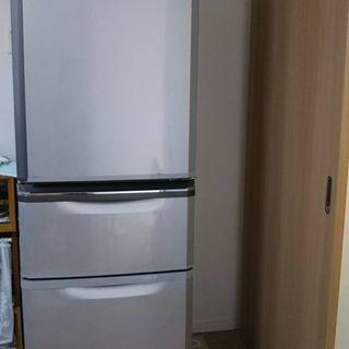 【取引中】三菱 冷蔵庫 MR-C37S-S クールシルバー
