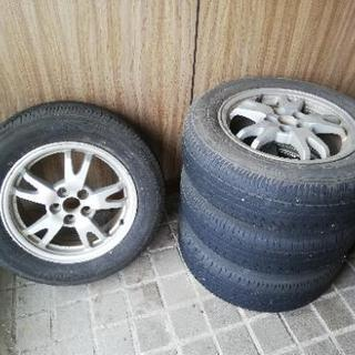 プリウス純正アルミホイール+タイヤ195-65-15