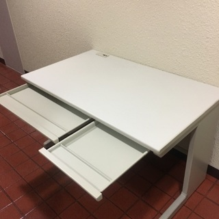 無料 引き出し付き オフィス デスク 標準サイズ