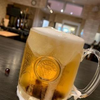 タピオカビール、タピオカハイボール♡クレープ セット割 キャンペー...