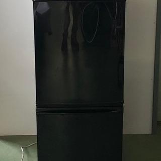 K シャープ ノンフロン冷凍冷蔵庫 SJ-D14B-B 2016年製