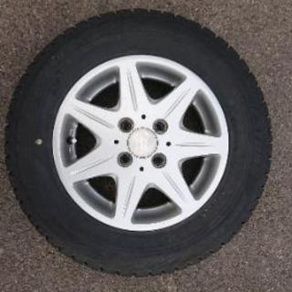 13インチアルミ145/80R13タイヤはオマケ
