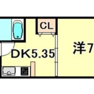 キッチン広め♫敷金礼金なし♫駅近♫女性に人気です♫
