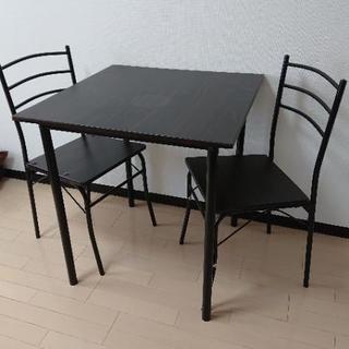ダイニングテーブル 1~2人用 椅子セット☆