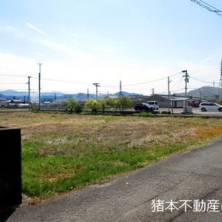 徳島市 国府町早淵(土地)資材置場用地 国道192号線から南へ約4...