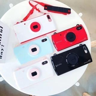 新品未使用 iPhone 7plus/8plus カメラ風 ケース