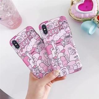 新品未使用 iPhone 6plus/6splus ピンク ケース