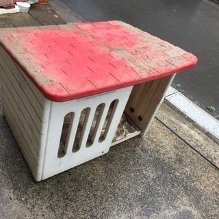犬小屋・中型犬くらい? あげます。