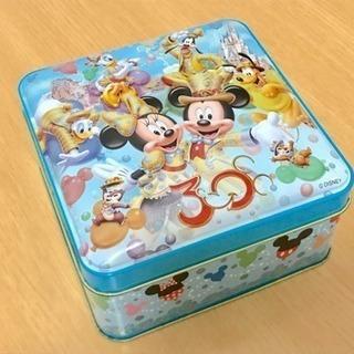 ディズニー 30周年 お菓子の空缶