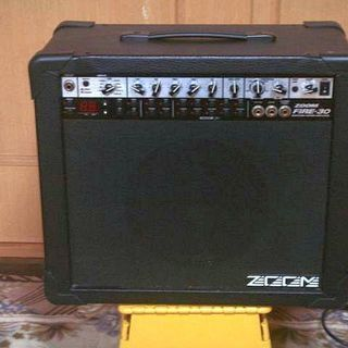 ZOOMのモデリングギターアンプ FIRE-30