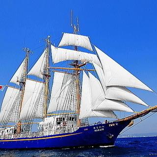 令和元年5月1日。帆船みらいへ一般公開(門司港)【無料】