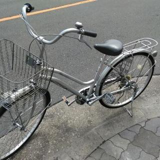 ♪ジモティー特価♪みんなが乗れるスタンダードスタイル26型中古自転...