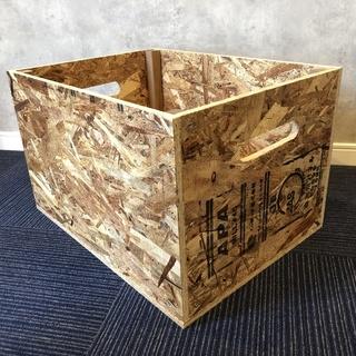ハンドメイドの収納BOX