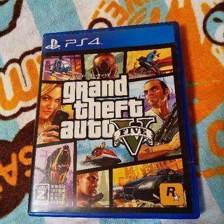 PS4 グランドセフトオート5