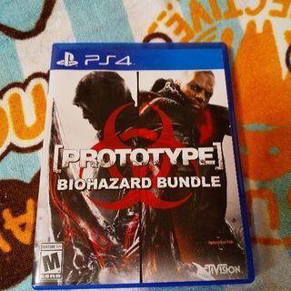 PS4 Prototype:Biohazard Bundle北米版