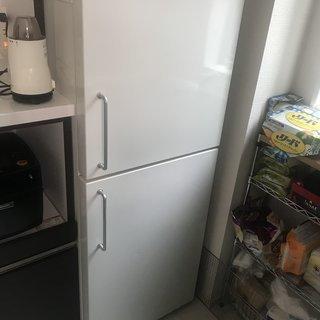 無印の冷蔵庫 137Lサイズ