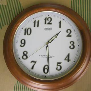 壁掛け時計 直径350mm ※電波時計ではありません