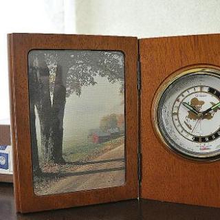 ブック型置き時計(CITIZEN ブッククロック720 WR72...