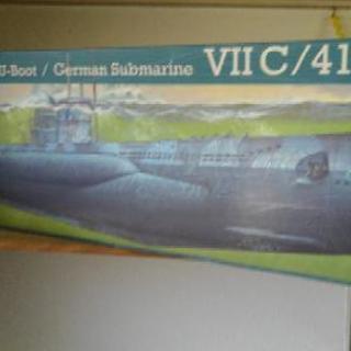 プラモデル潜水艦