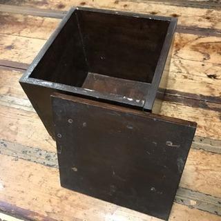 木箱 27×27×25cm 取りに来れる方限定