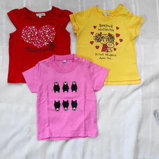 女の子 80センチ Tシャツ3枚セット