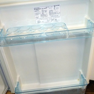 商談中となりました。Elabitax エラヴィタックス 2ドア冷凍冷蔵庫(96L・右開き) ホワイト ER-105-W(中古) − 鳥取県