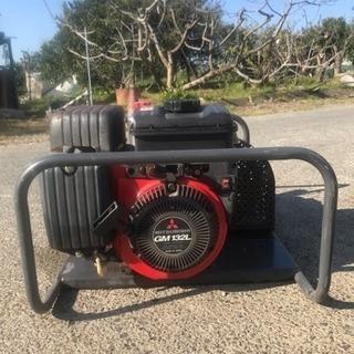エンジン式動噴 高圧洗浄機 qp-wl25 三菱GM132L エン...